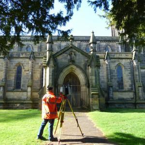 laser scanning in action