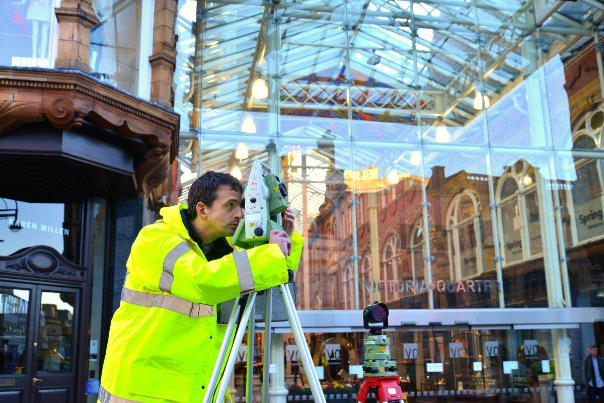 Measured Building Survey Victoria Gate Leeds Met