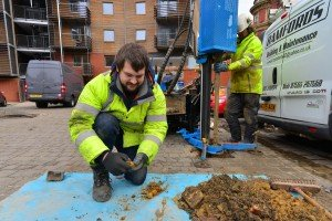 Boreholes and soil testing provide accurate analysis of selected areas
