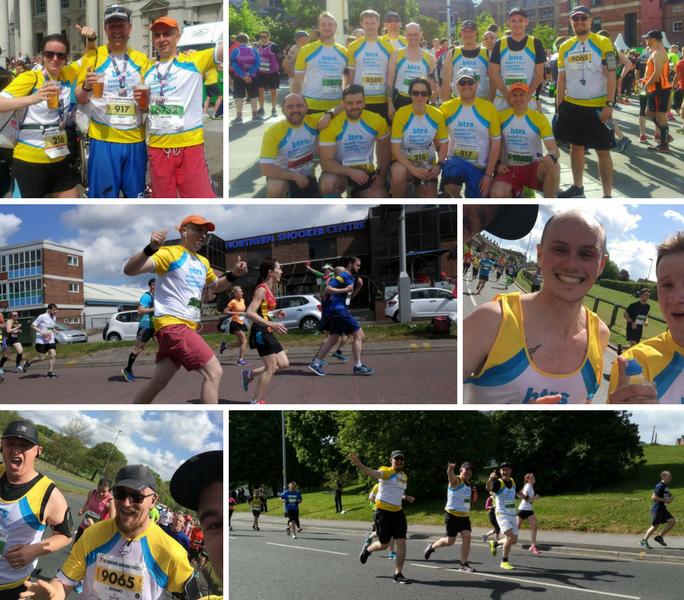 The Met Consultancy Group Leeds Half Marathon team